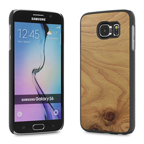 Cover-Up #WoodBack Real Wood Case for Samsung Galaxy S6 - Carpathian Elm Burl