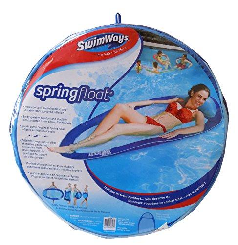 Swimways Spring Float - Blue & Light Blue