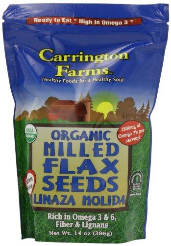 Carrington Farms Organic Flax Seeds