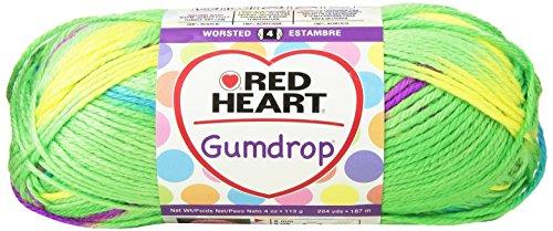 Coats Yarn Red Heart Gumdrop Yarn, Apple