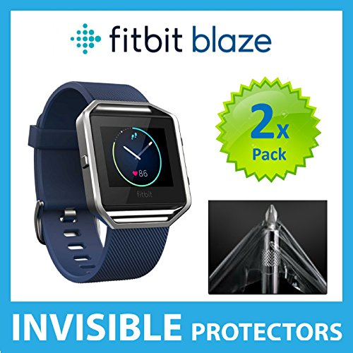 Fitbit Blaze Screen Protector (PACK of 2) SmartWatch Screen Protectors with Military Grade Protection Exclusive to ACE CASE