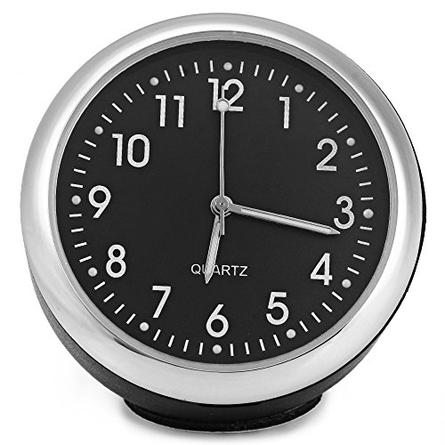 AutoLover® Built-in battery Luminous Digital Mechanics Car Quartz Clock Pointer Luminous Clock