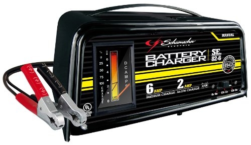 Schumacher SE-82-6 Dual-Rate 2/6 Amp Manual Battery Charger