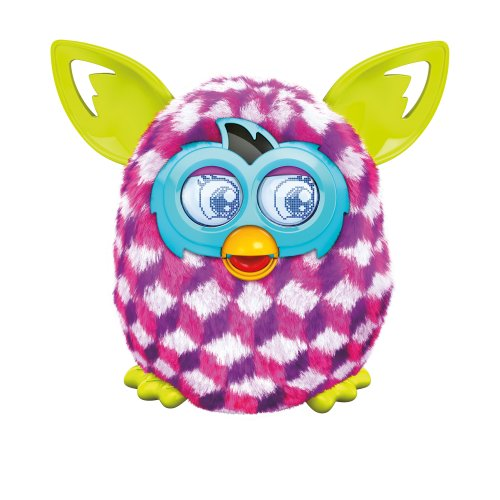Furby Pink Cubes Boom Plush Toy