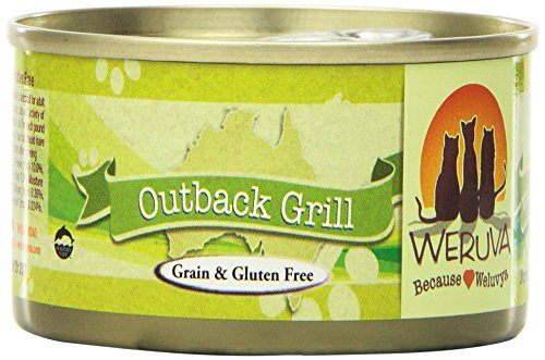 Weruva Cat Food, Outback Grill, 3-Ounce Cans (Pack of 24)