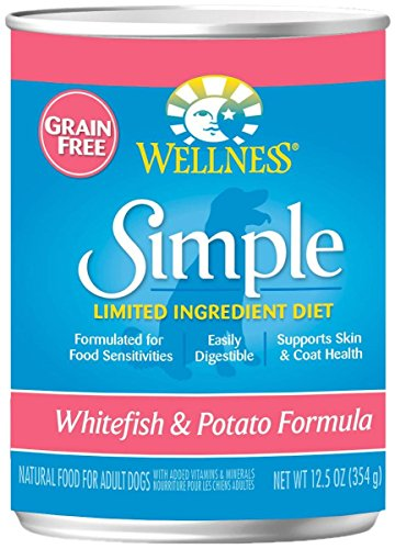 Wellness Simple Salmon & Potato Formula - 12 x 12.5 oz