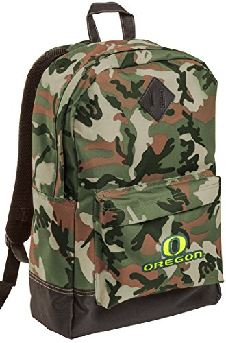 University of Oregon Camo Backpack UO Bag SCHOOL HUNTING TRAVEL