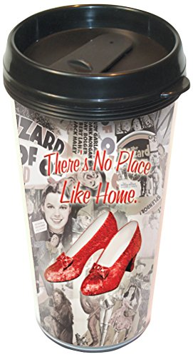ICUP Wizard of Oz There's No Place Like Home Plastic Travel Mug