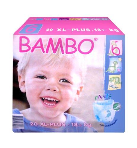 Bambo Nature Training Pants - Jumbo Pack - Size 6 - 20 ct