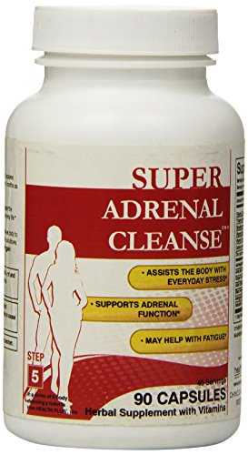 Health Plus Adrenal Cleanse Capsules, 90 Count