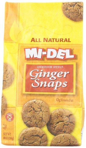 Mi Del Cookies, Ginger Snap, 10 Ounce