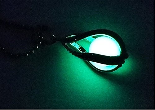 Handmade Fashion Teardrop Necklace - Glow In The Dark Pendant