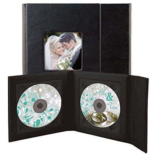 Supreme Double CD/DVD Holder - Holds 2 discs
