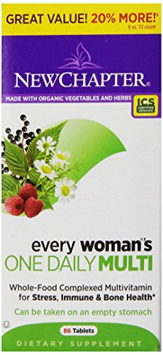 New Chapter Every Woman's One Daily Bonus Tablets, 86 Count