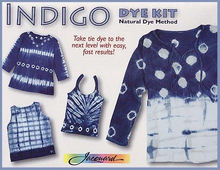 Indigo Dye Kit- Natural Indigo Clothing Dye Method