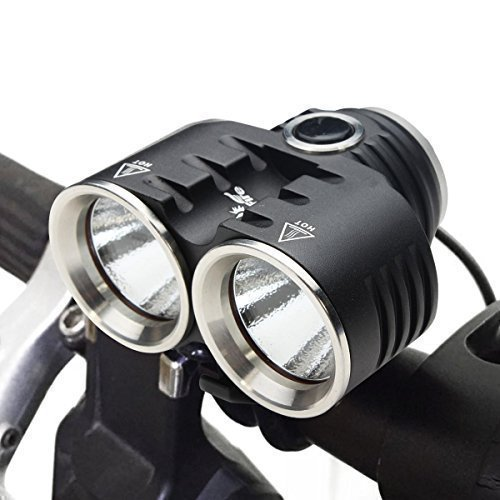 ThorFire 1400LM Bike Lights CREE XM-L2 Bicycle Cycling Lights Come with Taillight & 4*18650 Battery