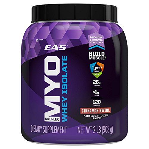 EAS Myoplex Whey Protein Isolate Powder, Cinnamon Swirl, 2 Pound