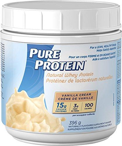 Pure Protein Natural Whey Protein Vanilla 396 g