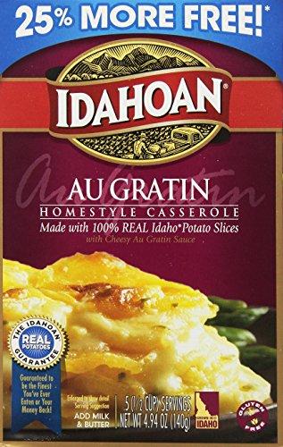 Idahoan 25% More Au Gratin Casserole, 4.94 Ounce (Pack of 12)