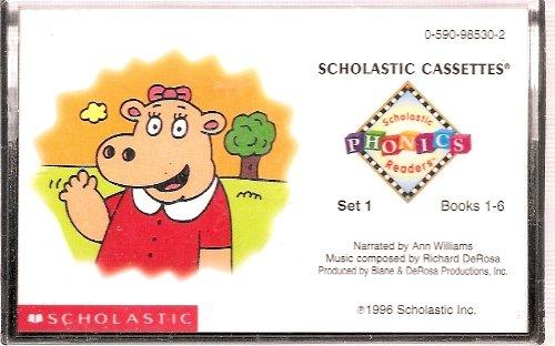Scholastic Phonics Readers Set 1; Books 1-6