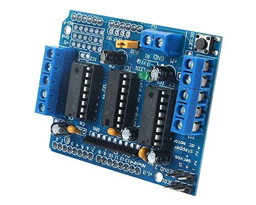 niceeshop(TM) L293D Motor Drive Shield Expansion Board For Arduino Duemilanove Mega UNO R3 AVR ATMEL
