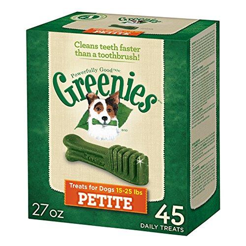 Greenies 10071443 Tub-Pak Treat for Dogs, 27-Ounce, Petite