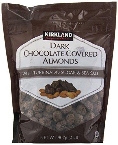 Kirkland Signature Dark Chocolate Covered Almonds, 32 Ounce