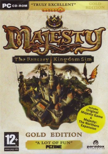 Majesty: Gold Edition - Majesty and Northern Expansion (PC DVD)