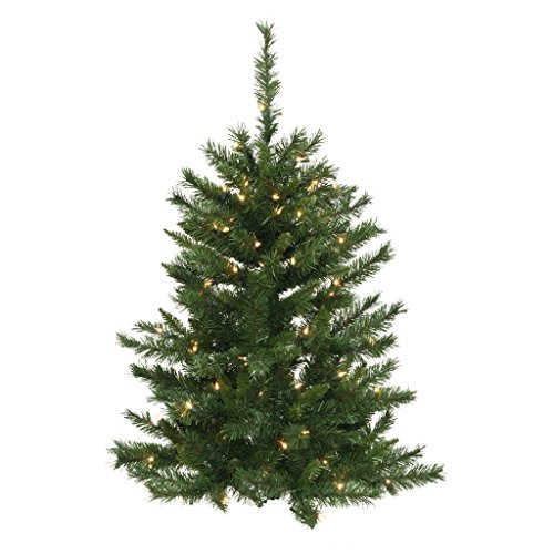 Vickerman 3' x 26 Imperial Pine Wall Tree with 50 Clear Lights