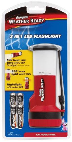 Energizer WRTWL41E Weatheready 3 in 1 Light