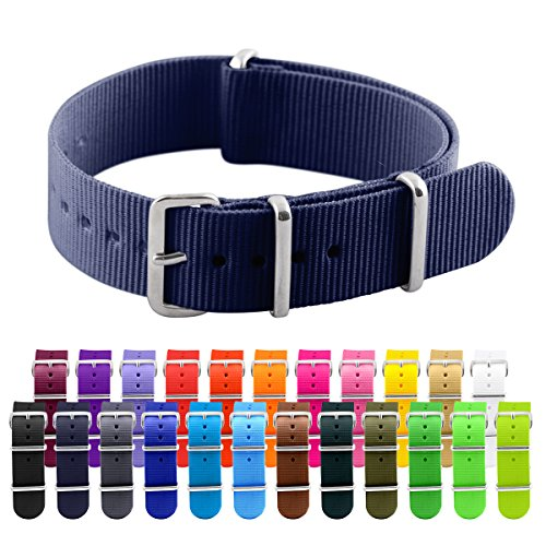 Clockwork Synergy Classic Nylon Nato watch straps bands