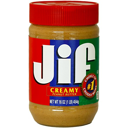 Jif Natural Creamy Peanut Butter 454g (Pack of 3)