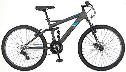 Mongoose Cache 26 Men's Mountain Bike, Grey