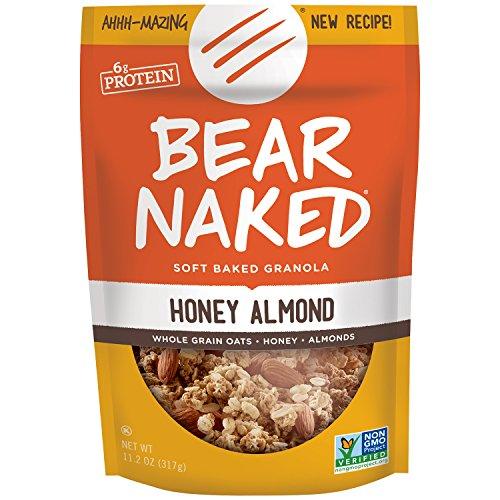 Kashi Bear Naked Granola, Honey Almond Protein, 11.2 Ounce