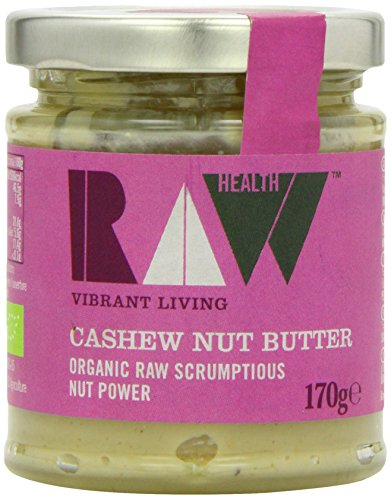 Raw Health Organic Raw Whole Cashew Butter 170 g (Pack of 2)