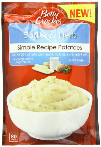 Betty Crocker Recipe Butter and Herb Potatoes, 3.3 Ounce (Pack of 8)