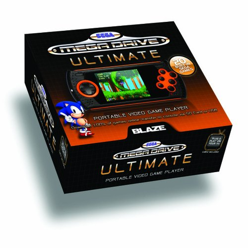 Sega Ultimate Portable Console with 20 Classic Megadrive Games built-in