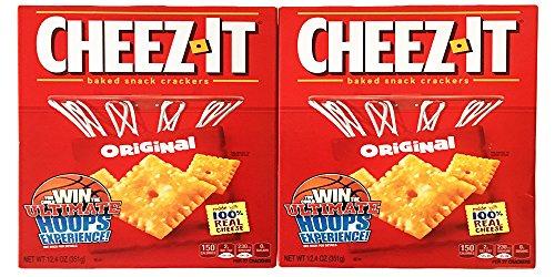 Cheez-It Original Two-Pack Bundle Two Original Size 12.4oz Boxes