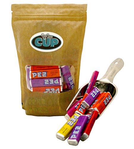 PEZ Candy Refills, Assorted Fruit Flavors, 1 Lb Resealable Bag