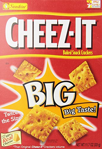 Cheez It Big, Original, 11.7-Ounce