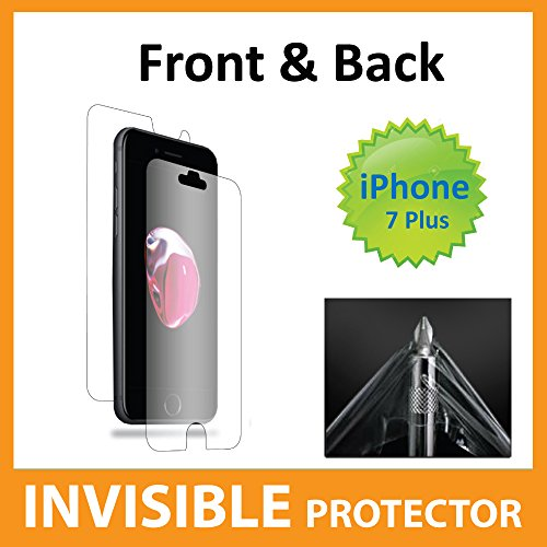 Apple iPhone 7 PLUS Screen Protector Full Body INVISIBLE Film Shield (Front, Back & Sides included) Military Grade Protection Exclusive to ACE CASE