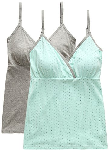 SUIEK® Women Maternity Nursing Tank Top Camisole Sleep Bra For Breastfeeding