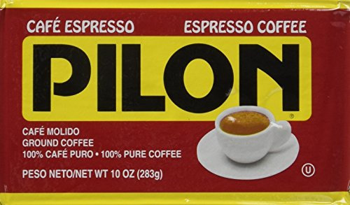 Pilon Espresso 100 % Arabica Coffee, 10-Ounce Bricks (Pack of 4)
