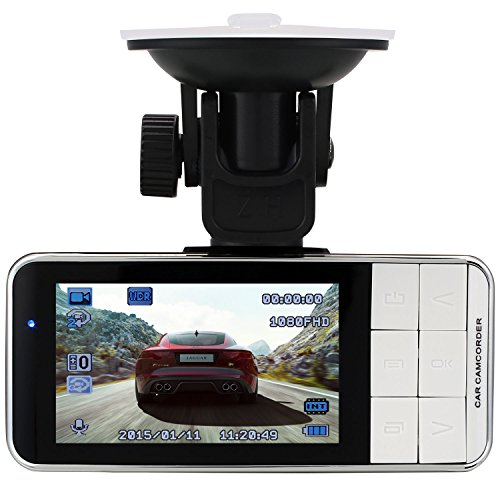 Car Dash Cam Camcorder HD 1080P 170° Wide Angle WDR 2.7 Screen with G-Sensor