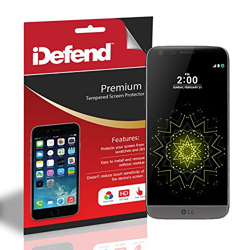 iDefend LG G5 Premium Tempered Glass Screen Protector