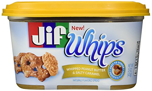 Jif Whips Whipped Peanut Butter & Salty Caramel