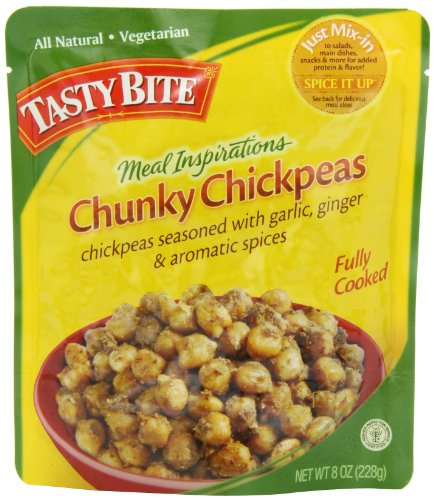 Tasty Bite Chunky Chickpeas Meal Inspirations, 8 Ounce Packages (Pack of 6)