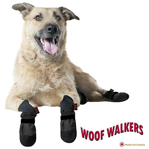 Muttluks Woof Walkers Black Dog Boots