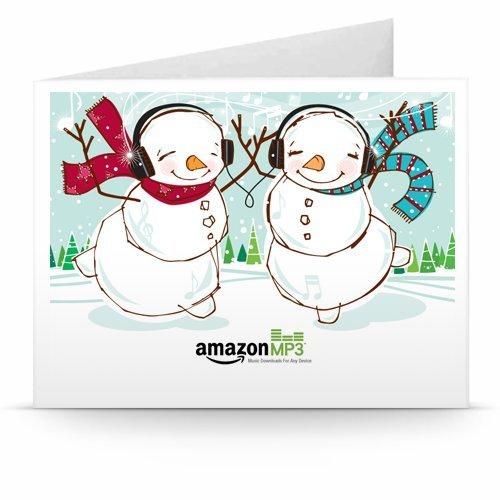 Groovy Christmas - Printable Amazon.co.uk Gift Voucher
