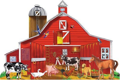 Melissa & Doug Farm Friends 32 pc Floor Puzzle
